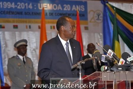 Le maintien au pouvoir de Blaise Compaoré, est aujourd'hui contestée