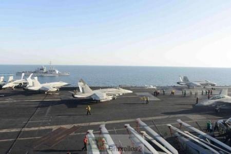 Le Jean Bart retrouve son grand frère USS Bush dans le Golfe