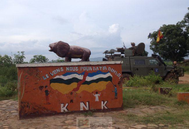Reportage à Bangui avec les militaires et gendarmes d'EUFOR RCA