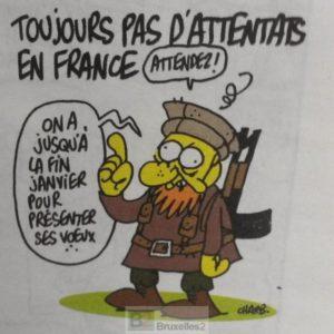 Attaque contre «Charlie Hebdo» : un acte terroriste (maj4)