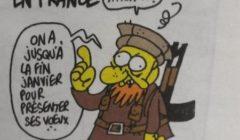 Les voeux de Charb... (crédit : Charlie Hebdo)