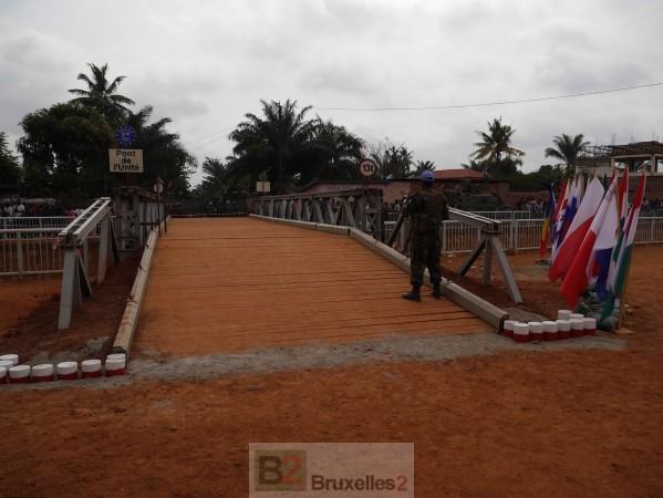 A Bangui, le pont de l'Unité est ouvert