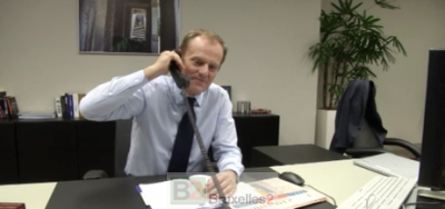 Donald a oublié d'utiliser le téléphone pour appeler Athènes (crédit : Conseil européen)