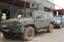 Incident à Bangui lors d'une interpellation par les forces européennes