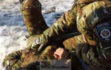 Un des blessés atteint par lexplosion de Kharkiv (extrait video témoin)