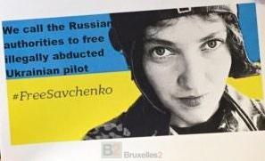 Free Savchenko, le nouveau mot d'ordre de l'UE