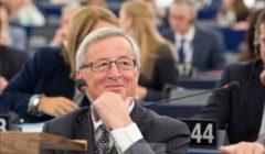 Le temps des sourires est-il terminé ? JC Juncker lors de son élection en juillet 2014 (crédit : Commission européenne)