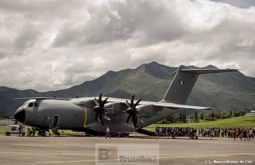 L'Atlas A400M de retour au bercail après son tour du monde