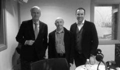 Avec Michel Barnier et Yann Antony Nogues (photo : Pauline Armandet / BFM)