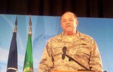 Le général Breedlove aujourdhui face à la presse (© NGV / B2)