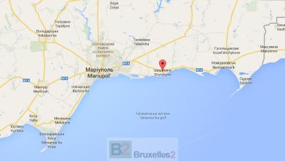 Bombardements près de Mariupol