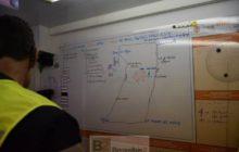 Au Pc de Secours des pompiers des Hautes alpes (Crédit : SDIS 05)