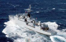 Laviso cdt en mer - archives - © Marine nationale / Robert Dal Soglio