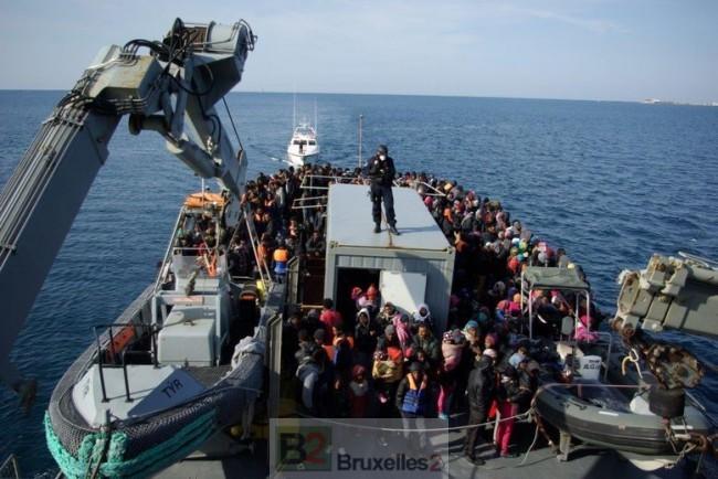 L'opération Triton en Méditerranée : combien de bateaux ?