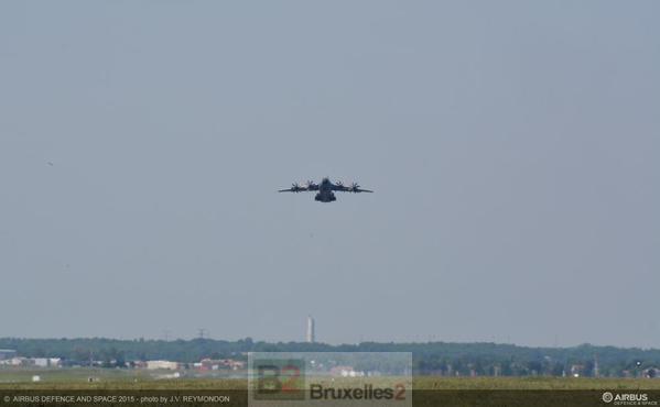 La ligne continue ! Premier essai en vol d'un A400M depuis le crash