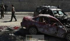 Deux des véhicules atteints dans lattaque (Crédit : BBC)