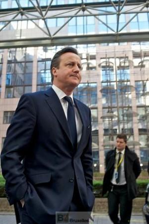 Cameron s'est isolé sur la scène européenne (ici, au sommet de mars 2014, archives : Conseil de l'UE)