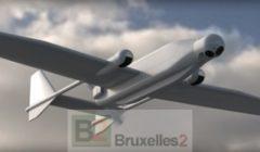 Un drone de surveillance Scout (crédit : Airbus DS)