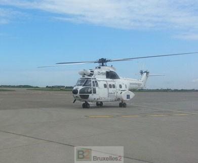 Accident d'un hélicoptère de EULEX Kosovo à Pristina. 1 blessé (maj)