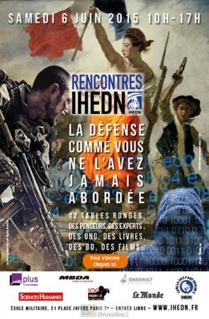 La défense comme vous ne l'avez jamais abordée, sur le campus de l'IHEDN le 6 juin