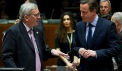 Juncker et Cameron au sommet du 19 mars (crédit : Conseil de lUE)