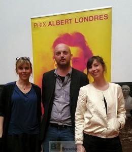 Les trois lauréats du prix Albert Londres