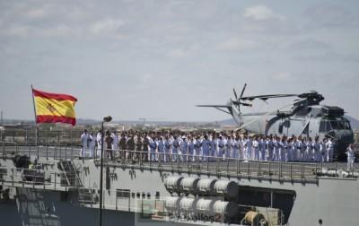 Cérémonie de la 19º rotation de commandement de l'opération Atalanta (Crédits: Eunavfor Atalante)