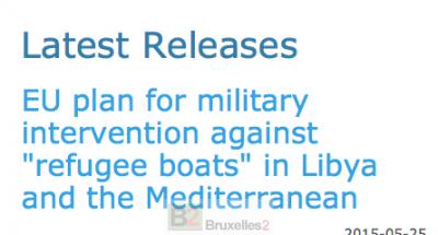 Le plan d'opération d'EUNAVFOR Med révélé par Wikileaks. Vraiment ?