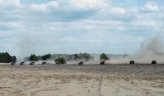Exercice Noble Jump sur le terrain dexercice de Zagan en Pologne (crédit : OTAN)