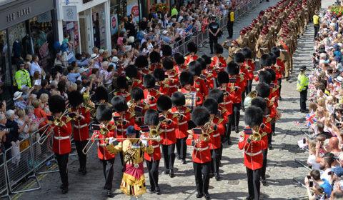 Une stratégie, cest un comme un défilé, cest beau, mais ca ne dure que le temps dun défilé (crédit : MOD UK)