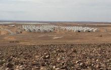 Le camp dAzraq à la frontière Syrie - Jordanie (crédit : ECHO/Caroline Gluck)