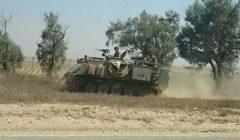 Un char israélien à Rafah  - juillet 2014(crédit : armée israélienne)