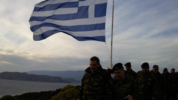 (crédit : ministère grec de la Défense)
