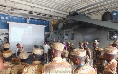 Formation des gardes côtes somaliens à Djibouti