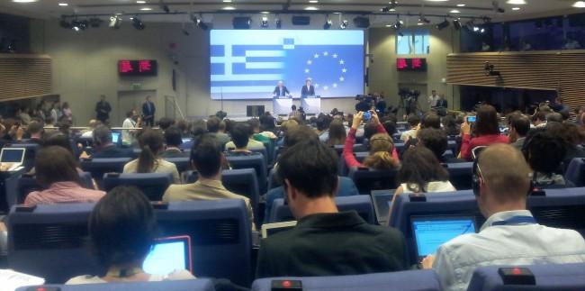 La Grèce dans l'Euro. L'adieu aux idéaux de jeunesse de Jean-Claude Juncker