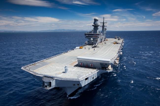 Le dispositif de commandement d'EUNAFOR Med. Un Français à bord…