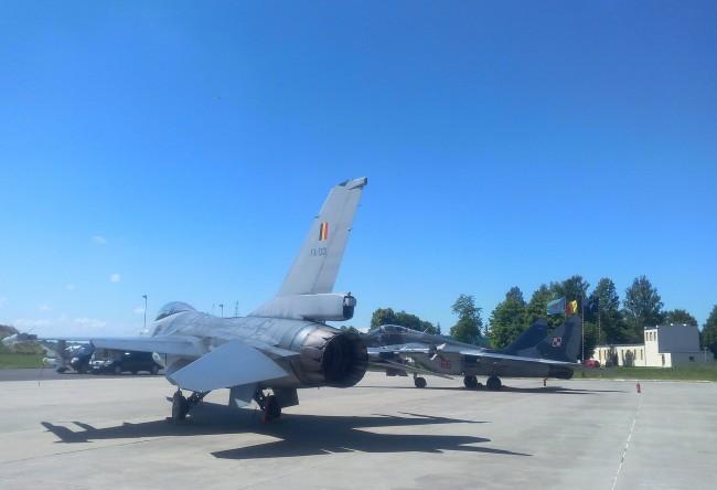 F16 Mig29 BaseMalbork 20150701