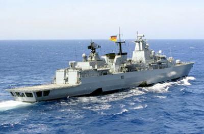 Deux navires allemands engagés en Méditerranée dans l'opération EUNAVFOR Med