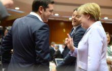 Derrière les sourires en présence des photographes, un amour-haine sur fond de drame économique (crédit : Conseil de lUE)