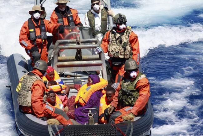 Sophia née en Méditerranée. Vaste journée de sauvetage pour les navires européens