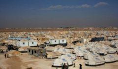 Un camp de toiles accueillant les réfugiés syriens en Jordanie (Crédit : HCR)
