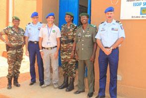 Les compétences pédagogiques prétendent valoriser et pérenniser les formations dispensées par l'unité des compétences techniques (Crédits: EUCAP Sahel Niger)
