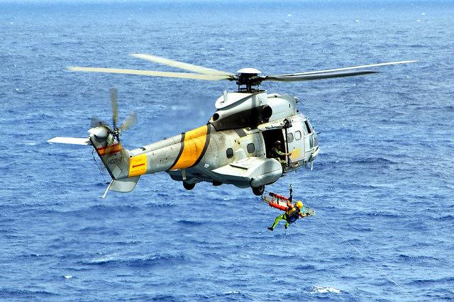 Crash d'un hélicoptère espagnol au large des Canaries (maj5)