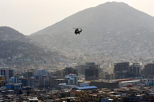 Crash d'un hélicoptère britannique en Afghanistan (maj)