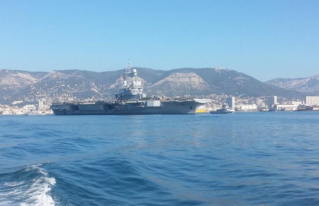 Cap au sud-est pour le porte-avions Charles-de-Gaulle