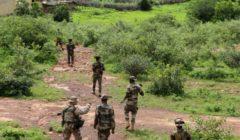 une patrouille en entraînement (crédit : EUTM Mali)