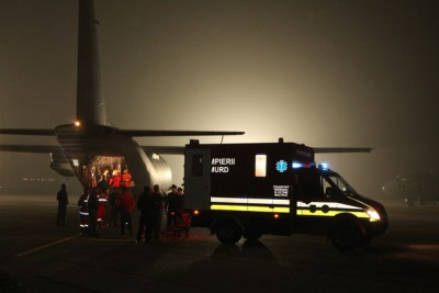 17 victimes de la discothèque Colectiv évacuées vers les Pays-Bas et la Belgique