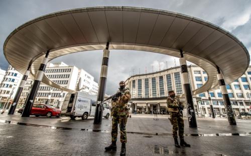 L'armée belge en manque de gilets pare-balles puise dans les stocks de l'Oncle Sam !