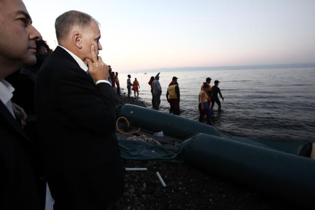 A Lesbos, une situation inacceptable s'alarme Andriukaitis. Où est l'Europe ?