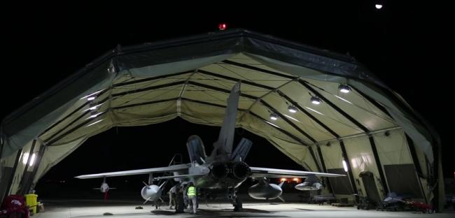 Les Brit' passent à l'action en Syrie. Le champ de pétrole de Omar visé